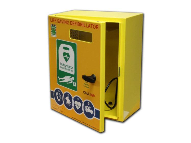 Telephone Box 2000 Mild Steel Cabinet Unlocked
