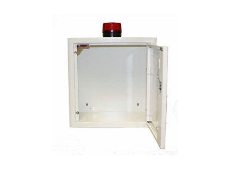 Heartsine 350P and White Indoor Cabinet