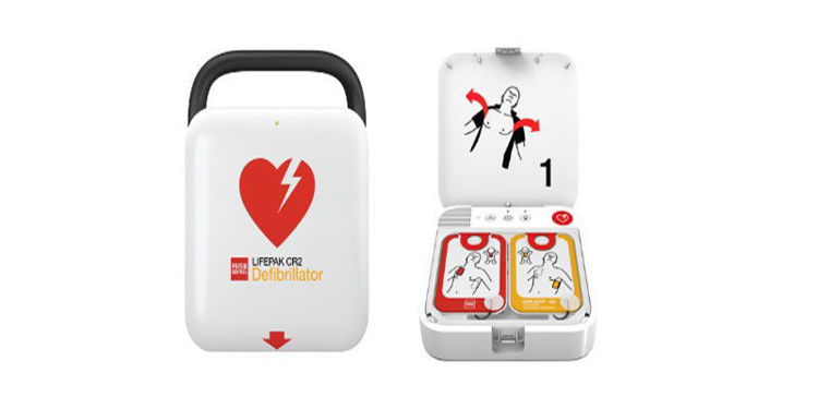 LIFEPAK CR2 Semi Automatic Defibrillator