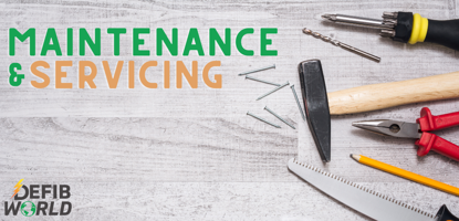 Defibrillator maintenance and servicing tools