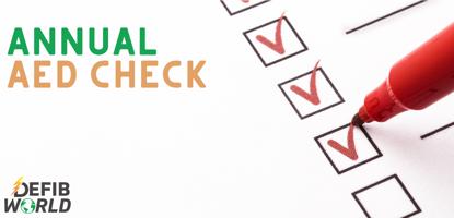 AED annual checklist