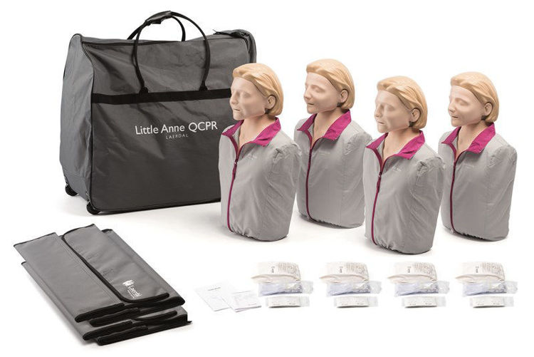 CPR manikin and carry case