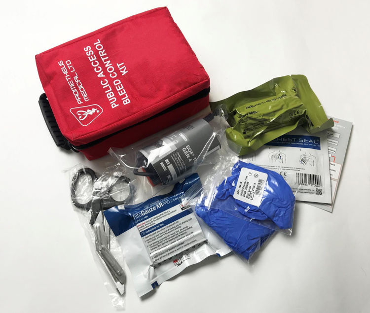 Red bleed control kit contents