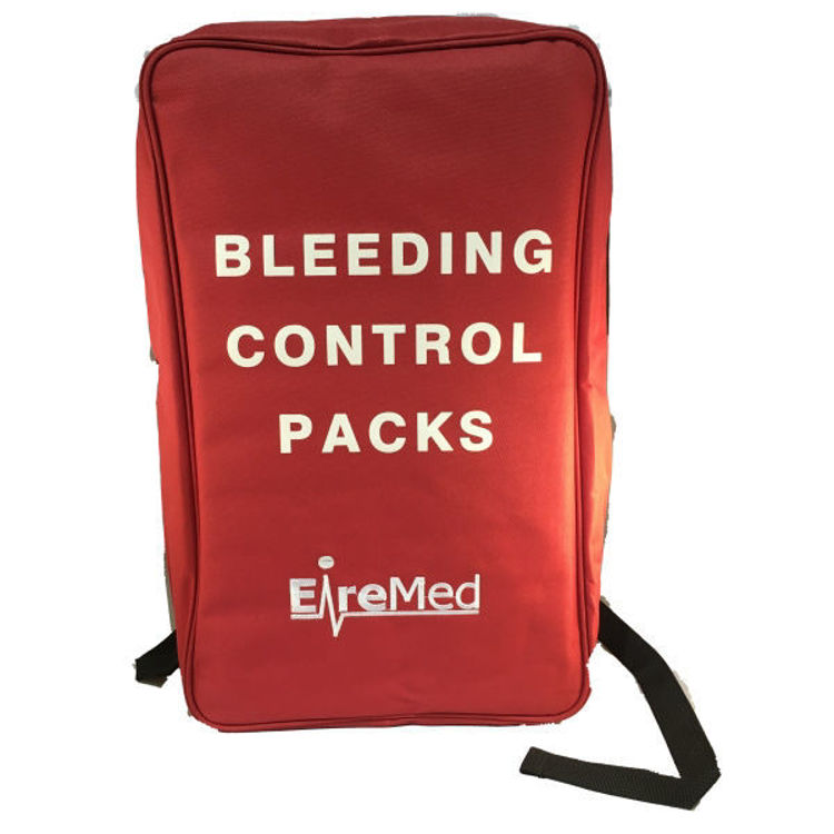 Red Bleed Control Backpack