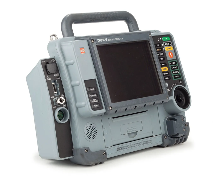 Physio Control Lifepak 15 semi automatic Monitor Defibrillator MID Spec