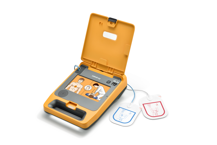 Mindray BeneHeart C1A Fully Automatic Defibrillator Open