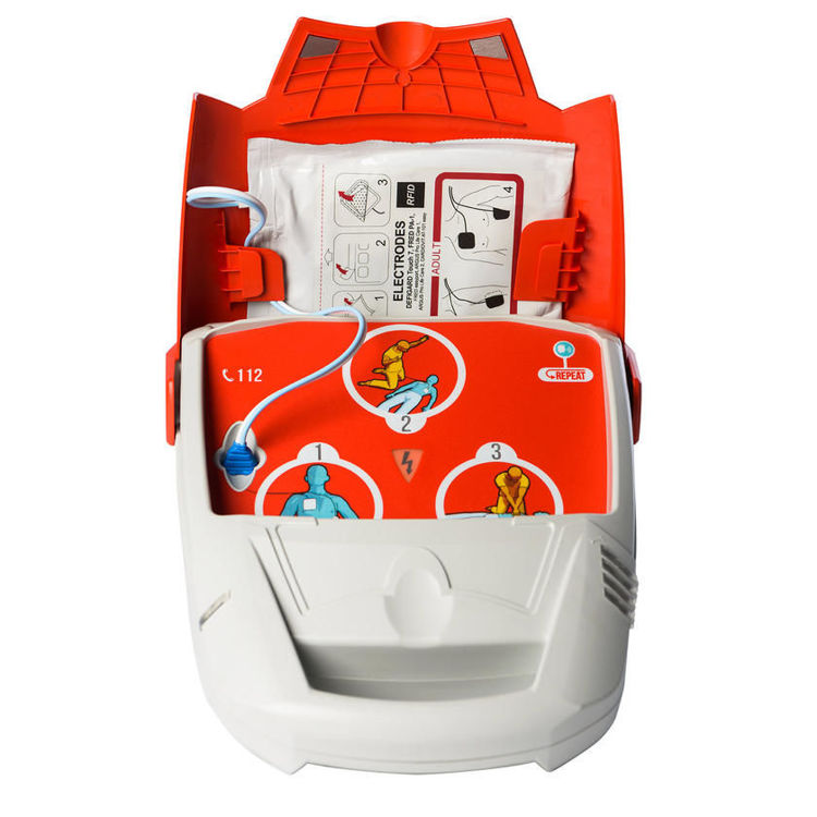 SCHILLER FRED PA-1 Fully Automatic Defibrillator Open