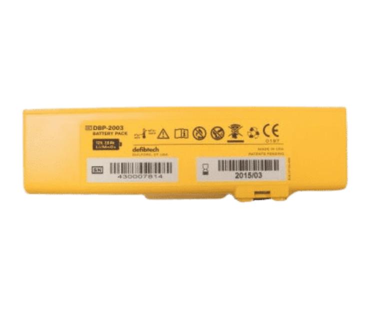 Defibtech Lifeline Standard 5 Year Battery Back View