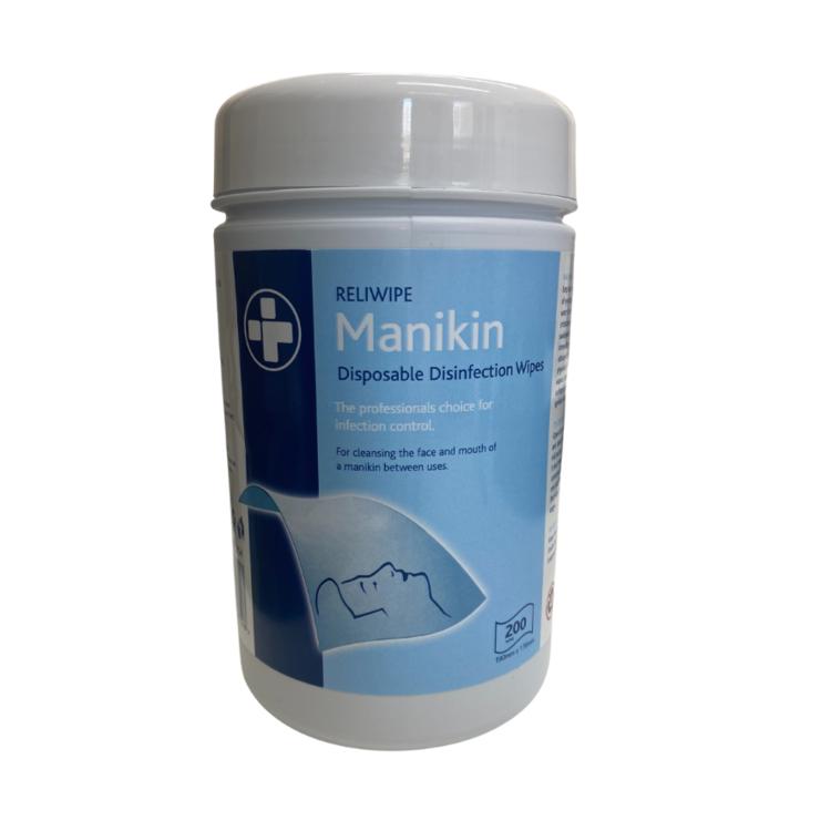 Reliwipe Manikin Wipes