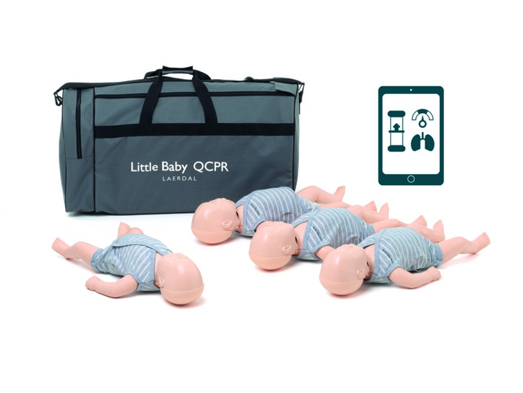 Laerdal Little Baby QCPR 4 Pack - Light