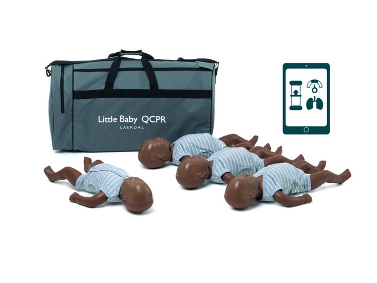 Laerdal Little Baby QCPR 4 Pack - Dark