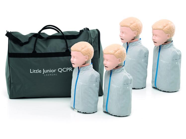 Laerdal Little Junior QCPR (4 Pack) - Light