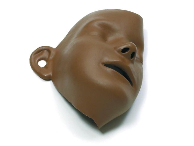 Laerdal Little Junior Removable Face 6 Pack - Dark