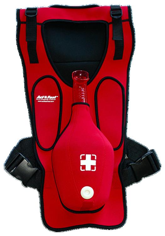 Act+Fast Anti-Choking Training Red Vest