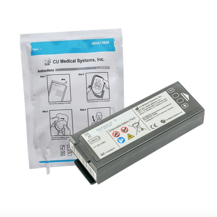 CU Medical Systems iPAD NF1200 Battery & Pad Bundle