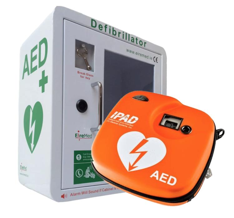 iPAD Defibrillator with Indoor Cabinet
