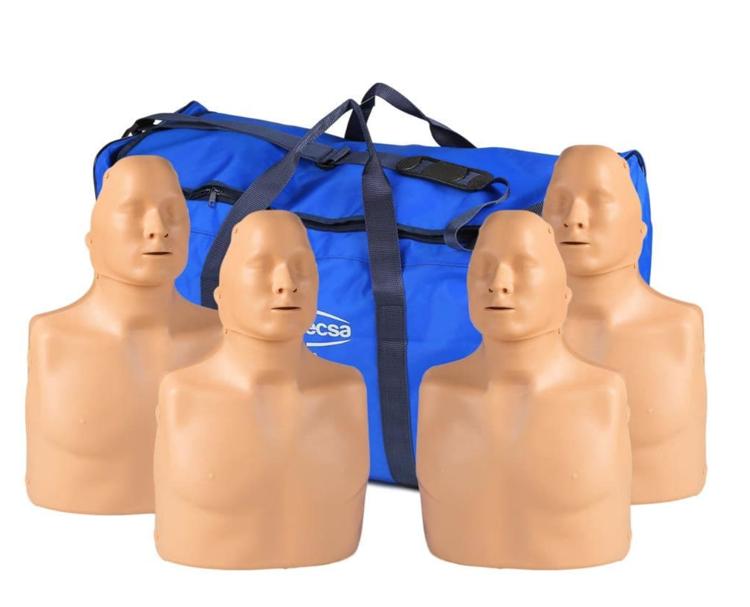 Practi-Man Standard Manikin 4 Pack with Bag