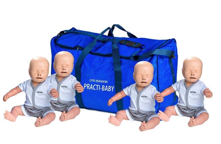 Practi-Baby Manikin - Pack of 4