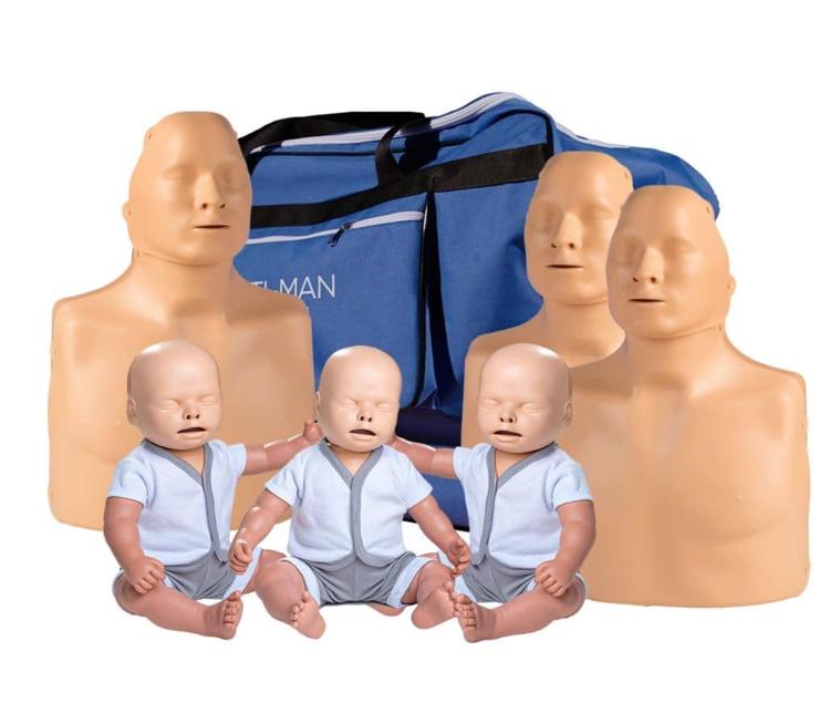 Standard Practi-Man Manikin Family Pack