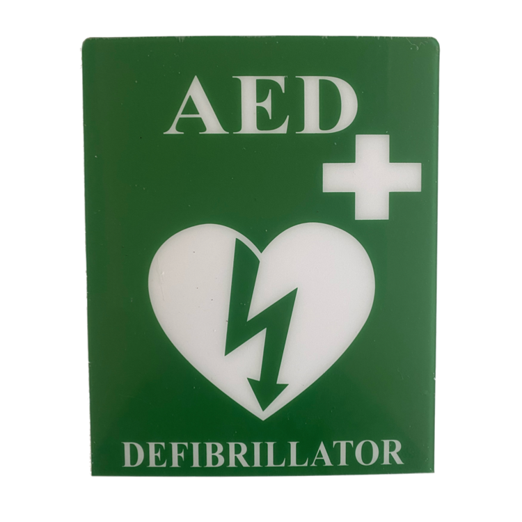 AED Wall Sign