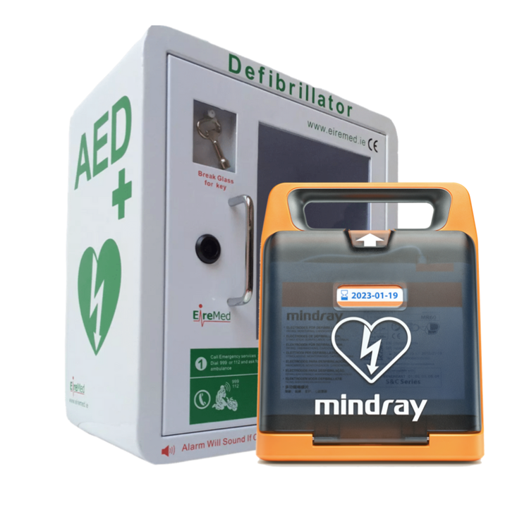 Mindray C2 and Locked Indoor Cabinet