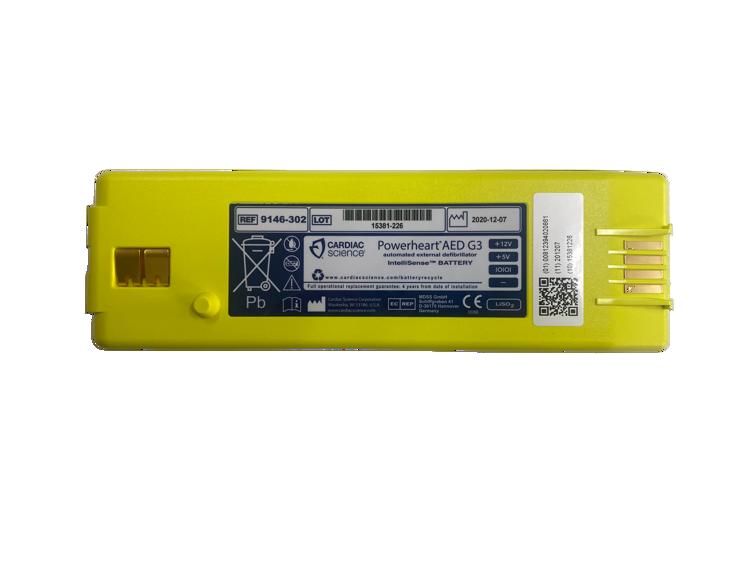 Powerheart G3 battery