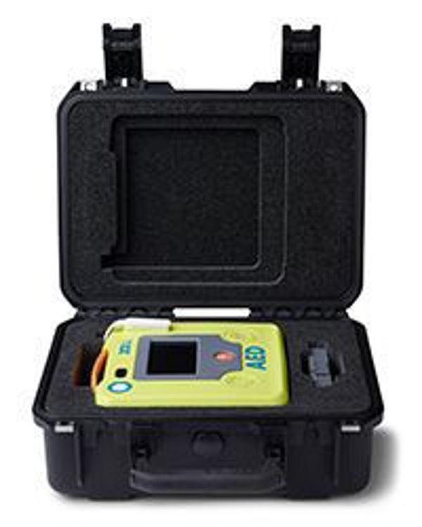 Small Rigid Plastic Case For ZOLL AED 3 Open