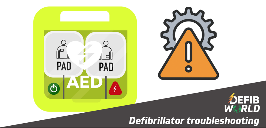 Defibrillator Troubleshooting