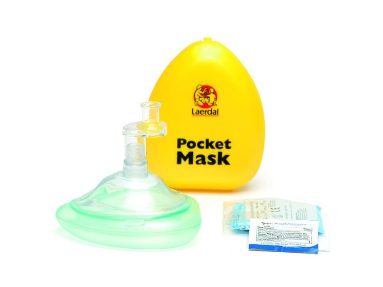 Laerdal Pocket Mask and Case