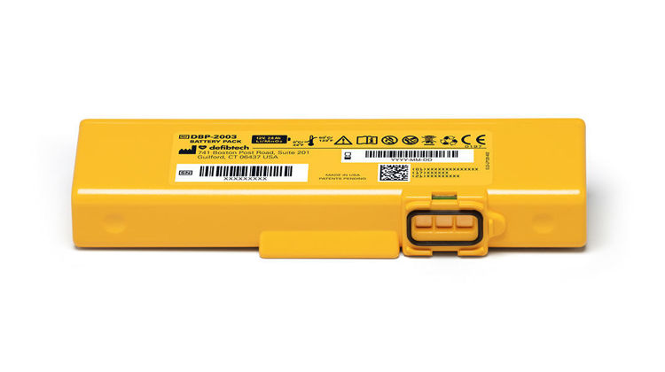 Defibtech Lifeline View, ECG & Pro 4 Year Battery Pack
