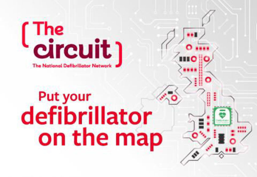 Registering Your Defibrillator - Ambulance Services & The Circuit